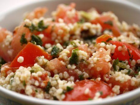 Kuskusový šalát- zdravý obed