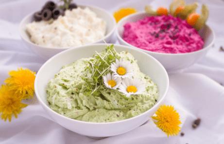 Nátierka- zdravé raňajky