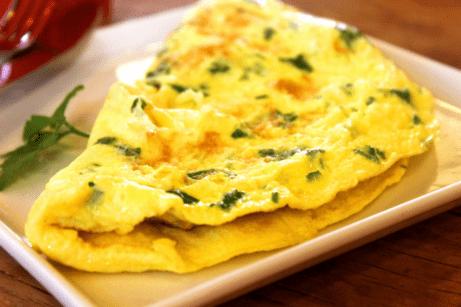 Omeleta- zdravé raňajky