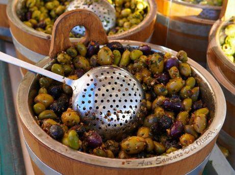 Stredomorská strava - olivy