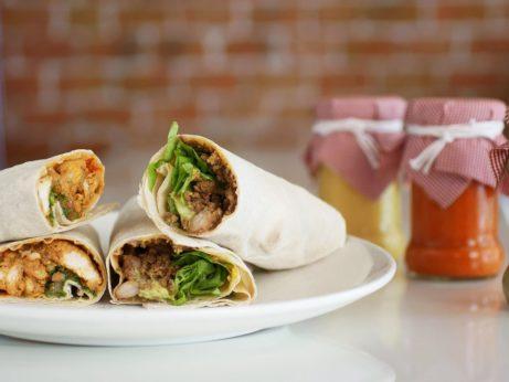 Stredomorská strava - domáci kebab
